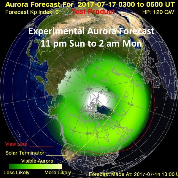Northern Lights could be visible tonight in Western Washington