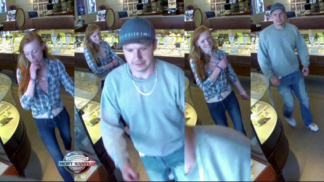 Do you recognize these criminals? They're wanted for jewelry thefts