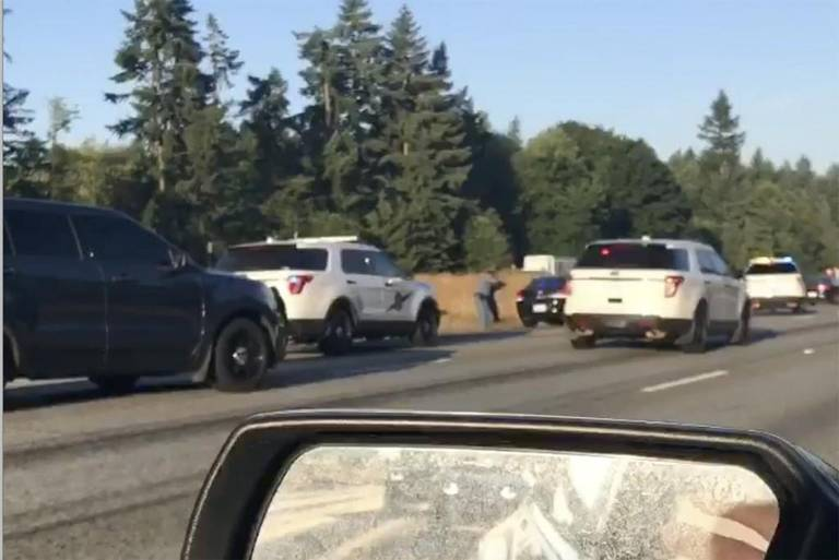 Coroner identifies man shot by State Trooper on I-5 in 'suicide by cop'