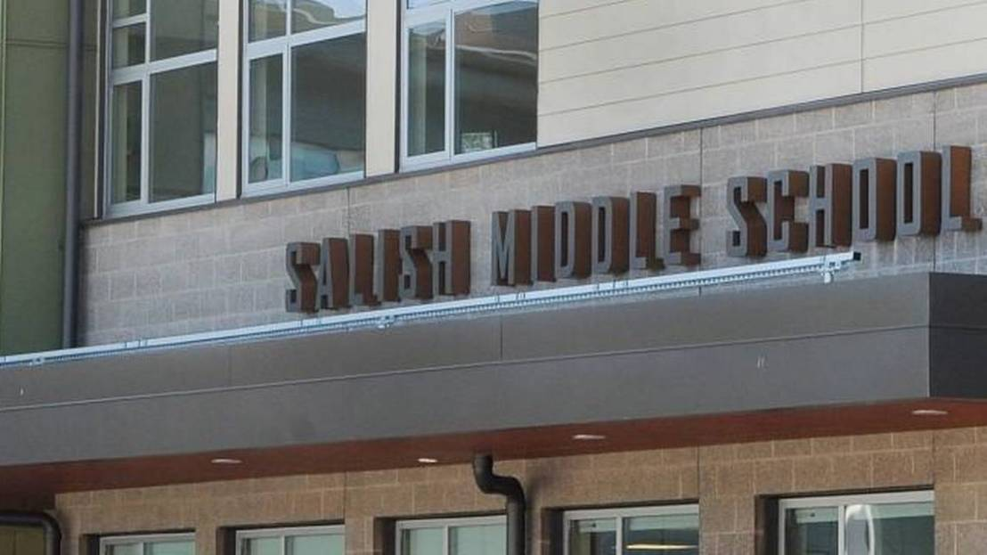 Child falls from balcony during lunch at Salish Middle School inLacey