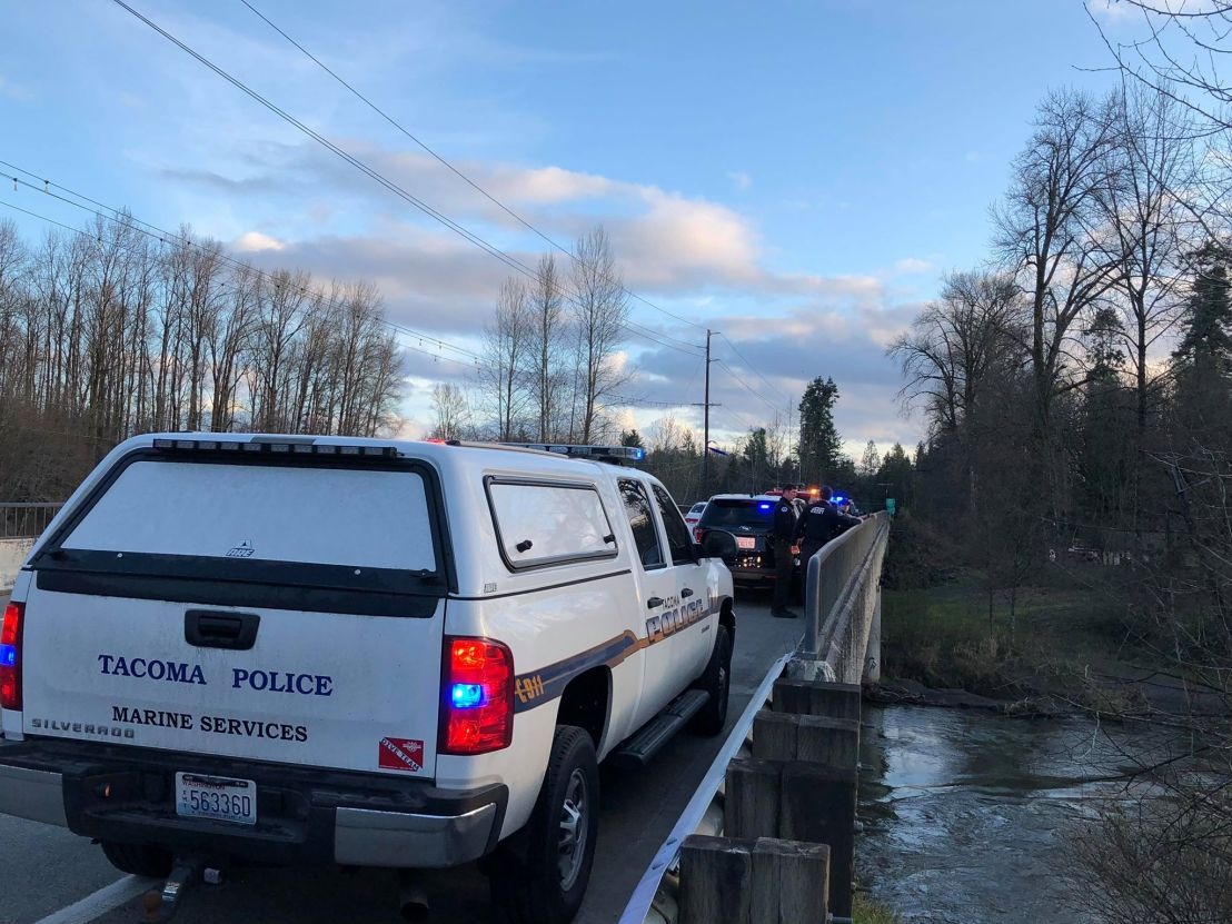 Happening now: Water search/rescue on Nisqually River