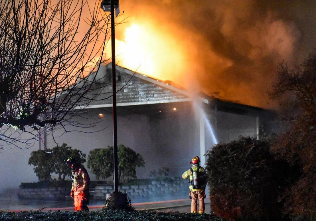Feds to investigate after another Kingdom Hall destroyed by fire